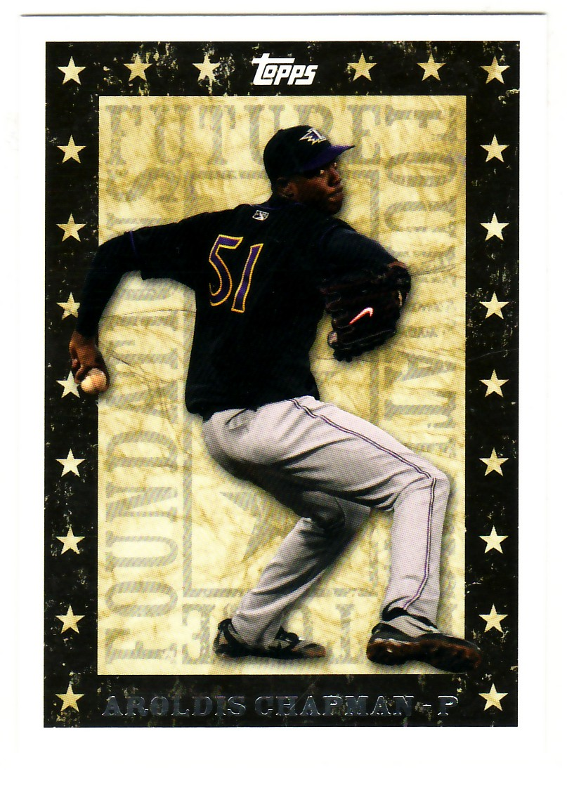 2010 Topps Pro Debut Future Foundations #FF20 Aroldis Chapman
