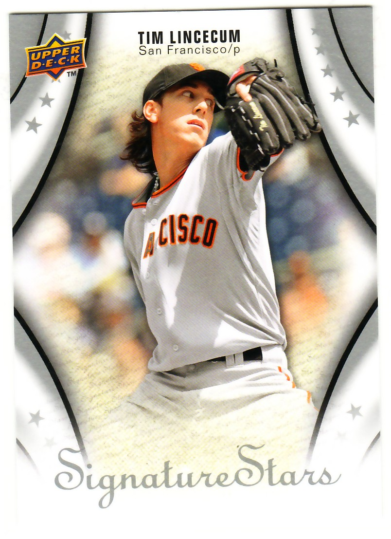 2009 Upper Deck Signature Stars #95 Tim Lincecum