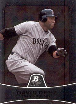 2010 Bowman Platinum #65 David Ortiz