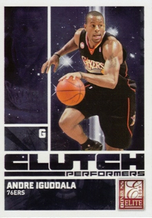 2009-10 Donruss Elite Clutch Performers #9 Andre Iguodala