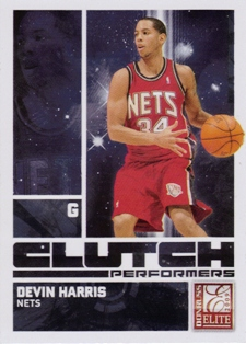 2009-10 Donruss Elite Clutch Performers #15 Devin Harris