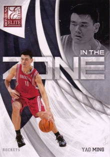 2009-10 Donruss Elite In the Zone #7 Yao Ming