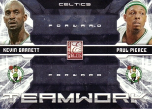 2009-10 Donruss Elite Teamwork Combos #2 Kevin Garnett/Paul Pierce