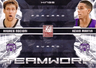 2009-10 Donruss Elite Teamwork Combos #26 Andres Nocioni/Kevin Martin