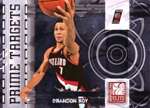 2009-10 Donruss Elite Prime Targets #9 Brandon Roy