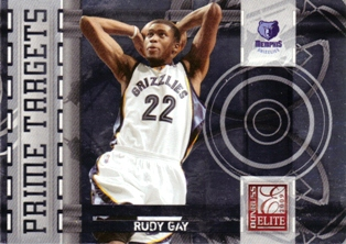 2009-10 Donruss Elite Prime Targets #16 Rudy Gay