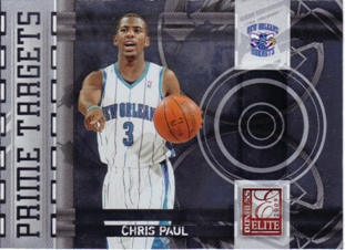 2009-10 Donruss Elite Prime Targets #17 Chris Paul