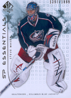 2009-10 SP Authentic #153 Steve Mason ESS