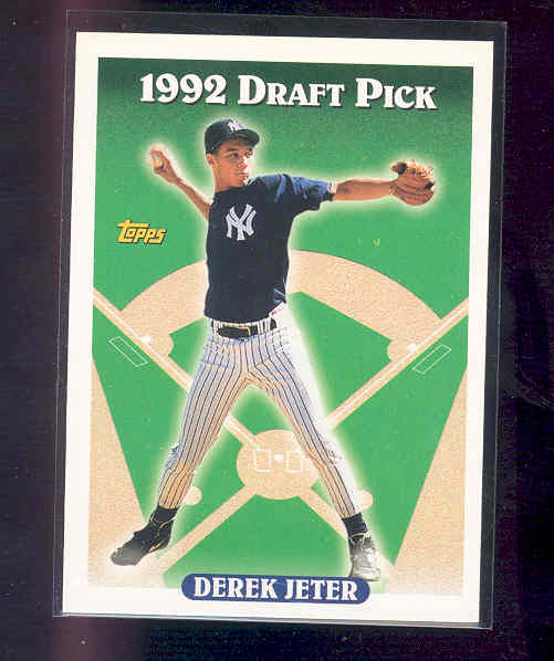 1993 Topps #98 Derek Jeter rc Rookie Card NM-MT (02)