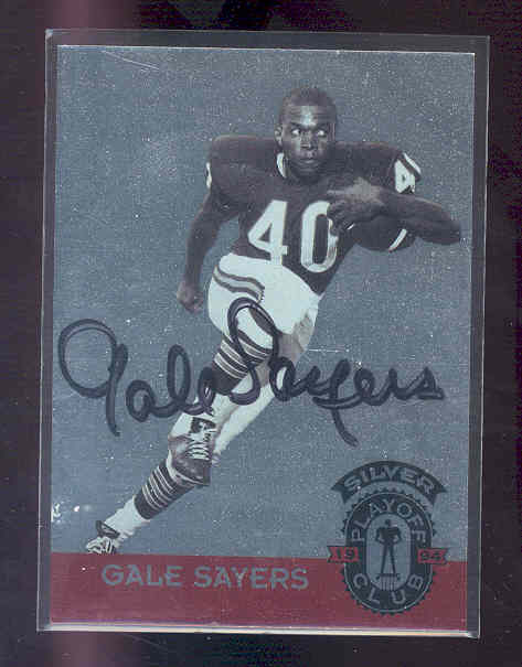 1994 Playoff #NNO Gale Sayers AUTO