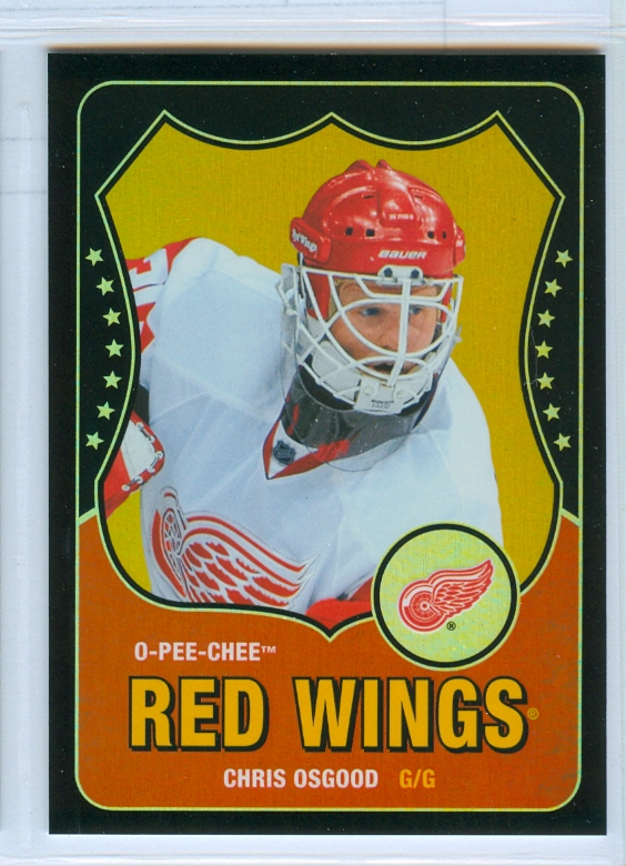 2010-11 O-Pee-Chee Retro Black Rainbow #277 Chris Osgood