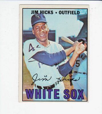 1967 Topps #532 Jim Hicks RC