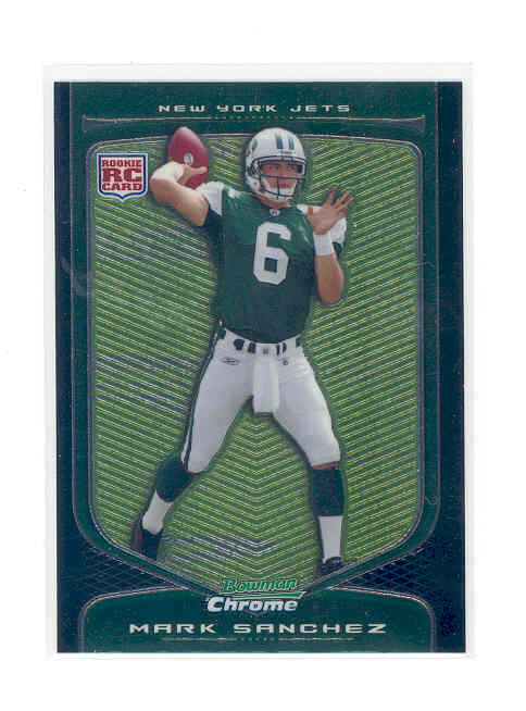 2009 Bowman Chrome #115 Mark Sanchez RC
