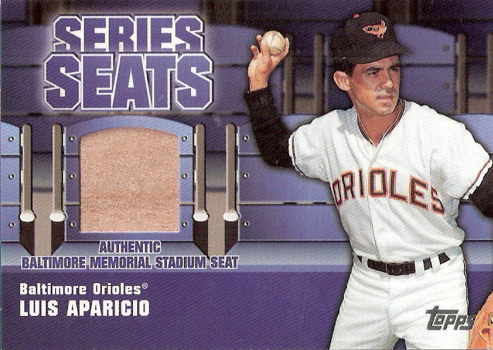 2004 Topps Series Seats Relics #LA Luis Aparicio