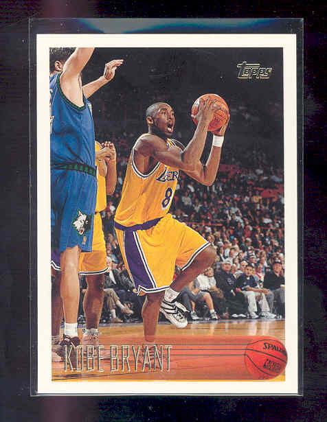 1996-97 Topps #138 Kobe Bryant Rookie RC NM-MT (01)