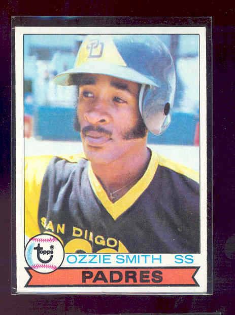 1979 Topps #116 Ozzie Smith rc rookie card EX-MT (01)