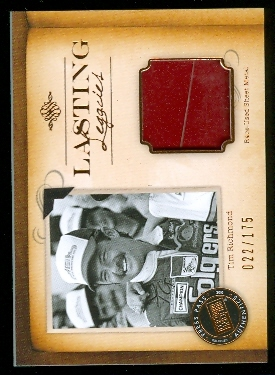 2010 Press Pass Legends Lasting Legacies Copper #LLTR2 Tim Richmond SM