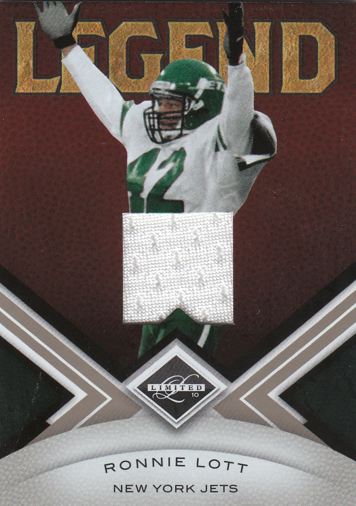 2010 Limited Threads #149 Ronnie Lott/199