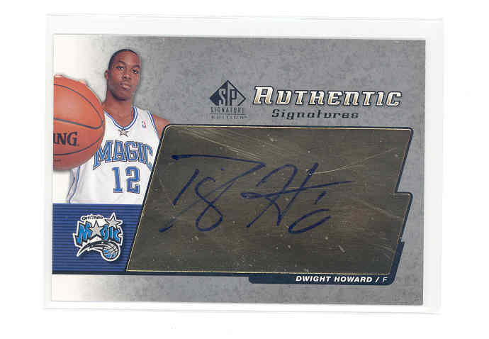 2004-05 SP Signature Edition Signatures #DH Dwight Howard