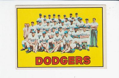 1967 Topps #503 Los Angeles Dodgers TC