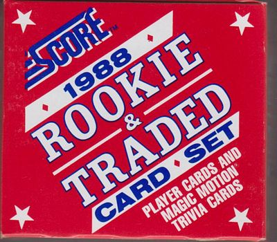 1988 Score Rookie & Traded Set