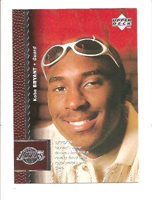 1996-97 Upper Deck #58 Kobe Bryant RC