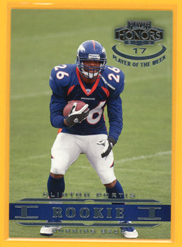 2002 Playoff Honors Player of the Week Panelist #17 Clinton Portis