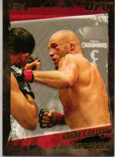 2010 Topps UFC Gold #16 Randy Couture