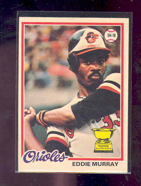 1978 O-Pee-Chee #154 Eddie Murray RC rookie card ! NM-MT (01)
