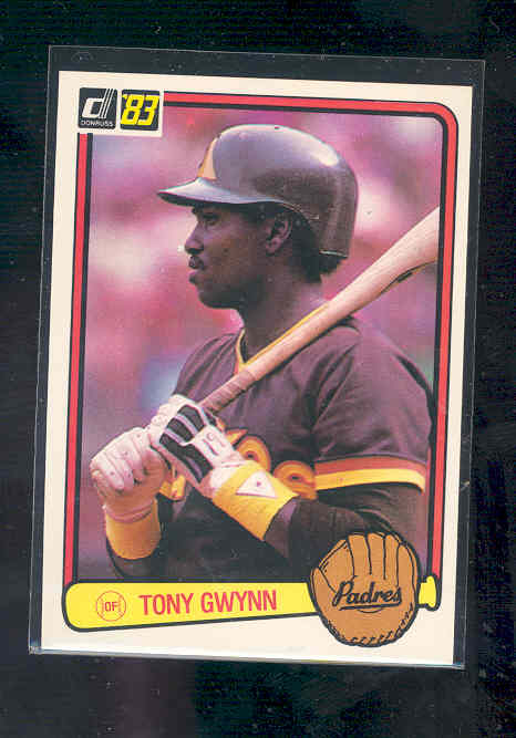 1983 Donruss #598 Tony Gwynn rc Rookie card NM-MT (01)