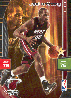 2009-10 Adrenalyn XL #11 Joel Anthony RC