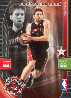 2009-10 Adrenalyn XL #22 Andrea Bargnani