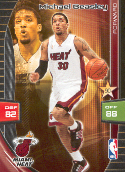 2009-10 Adrenalyn XL #28 Michael Beasley