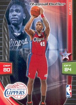 2009-10 Adrenalyn XL #50 Rasual Butler