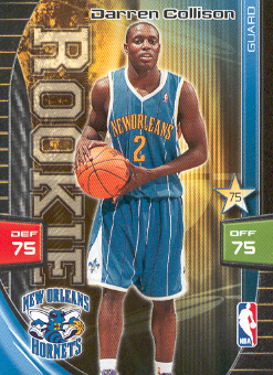 2009-10 Adrenalyn XL #62 Darren Collison RC