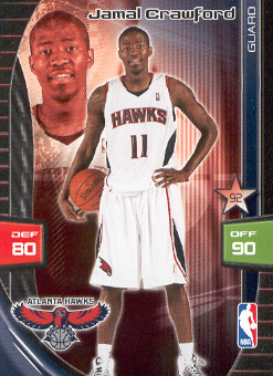 2009-10 Adrenalyn XL #65 Jamal Crawford