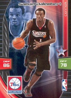 2009-10 Adrenalyn XL #68 Samuel Dalembert