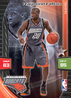 2009-10 Adrenalyn XL #91 Raymond Felton