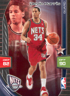 2009-10 Adrenalyn XL #122 Devin Harris