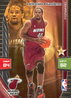 2009-10 Adrenalyn XL #123 Udonis Haslem
