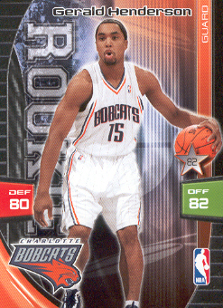 2009-10 Adrenalyn XL #128 Gerald Henderson RC