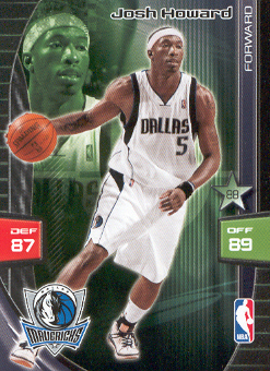 2009-10 Adrenalyn XL #137 Josh Howard