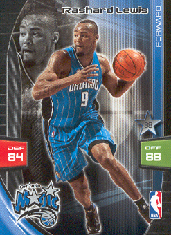 2009-10 Adrenalyn XL #174 Rashard Lewis