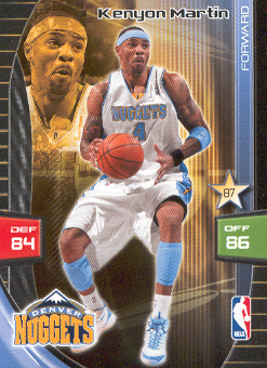 2009-10 Adrenalyn XL #182 Kenyon Martin