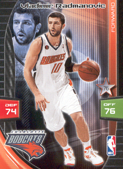2009-10 Adrenalyn XL #233 Vladimir Radmanovic