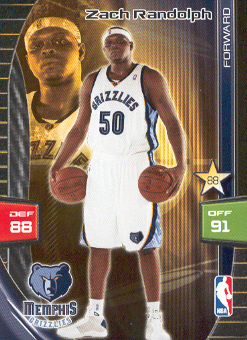 2009-10 Adrenalyn XL #234 Zach Randolph