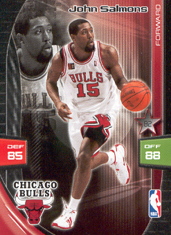 2009-10 Adrenalyn XL #246 John Salmons