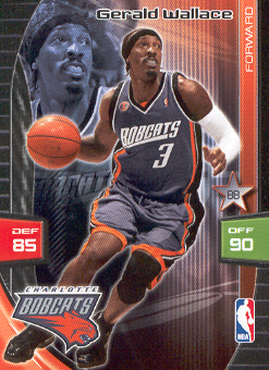 2009-10 Adrenalyn XL #279 Gerald Wallace