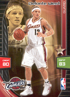 2009-10 Adrenalyn XL #284 Delonte West