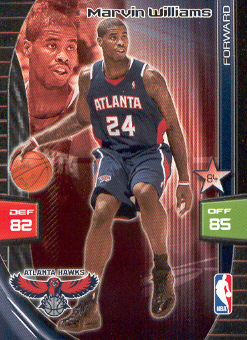 2009-10 Adrenalyn XL #289 Marvin Williams